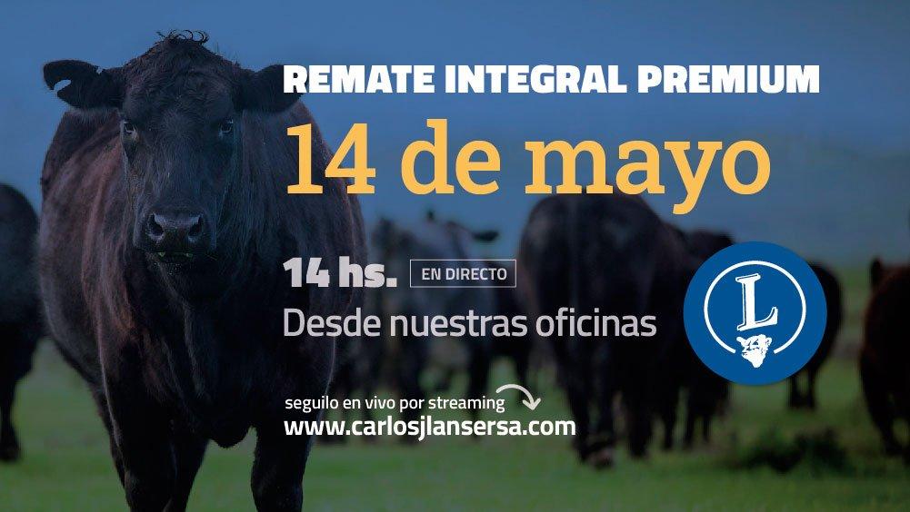 REMATE INTEGRAL PREMIUM DE CARLOS J. LANSER S.A. 14/05/2021